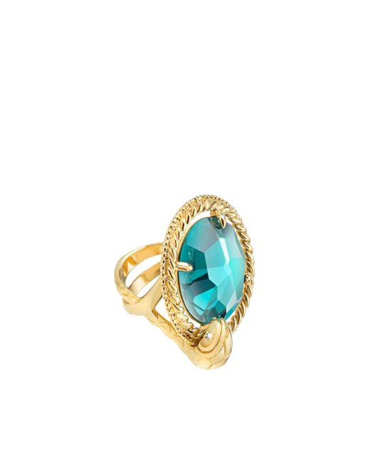 Just Cavalli | Blue Ring | Lyst