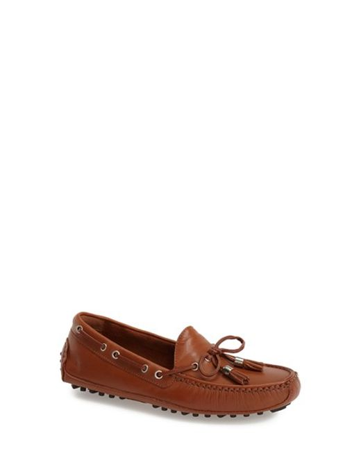 Cole Haan | Brown 'Grant' Driving Flat | Lyst