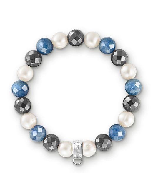 Thomas Sabo   Multicolor Charm Club Royal Blue Stone Bracelet   Lyst