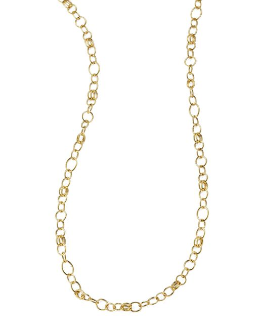 Ippolita | Metallic Glamazon 18k Gold Classic Link Long Chain Necklace | Lyst