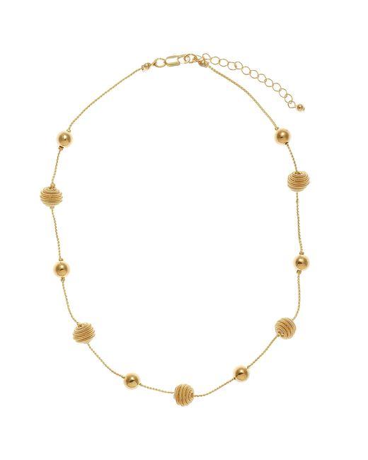 John Lewis | Metallic Translucent Flower Statement Necklace | Lyst