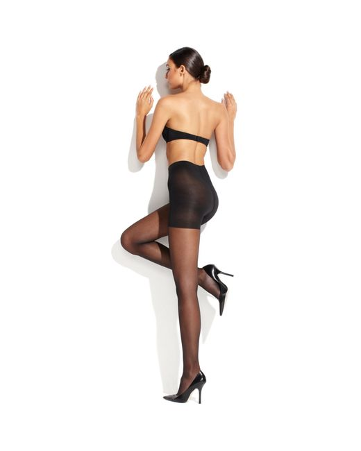 Wolford Satin Touch 20 Control Top in Transparent (Gobi ...