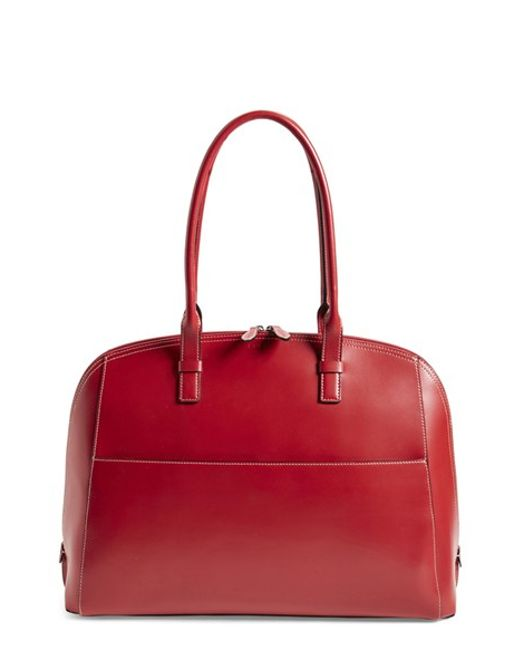 Lodis | Red 'audrey Collection - Buffy' Leather Shoulder Bag | Lyst