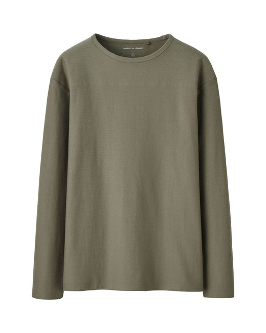 Uniqlo Men 39 S Lemaire Boat Neck Long Sleeve T Shirt In