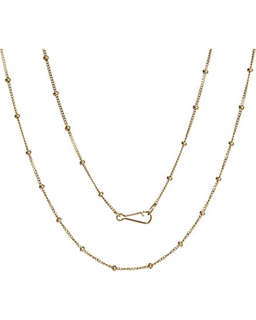 Annoushka | Classic Saturn 18ct Yellow-gold Long Chain | Lyst