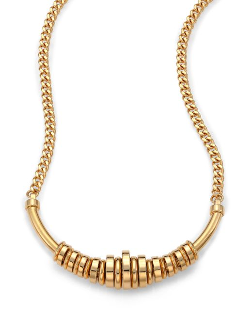 Chloé | Metallic Freja Long Necklace | Lyst