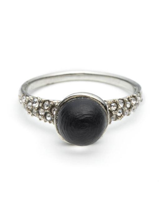 Alexis Bittar | Black Encrusted Mini Sphere Ring You Might Also Like | Lyst