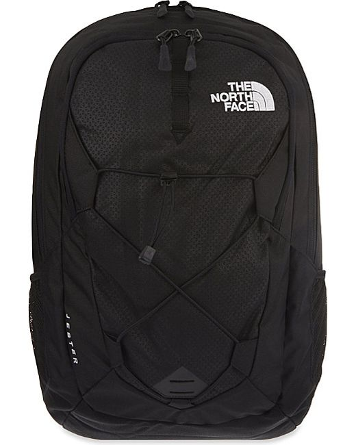 The North Face | Black Jester Zipped Backpack for Men | Lyst