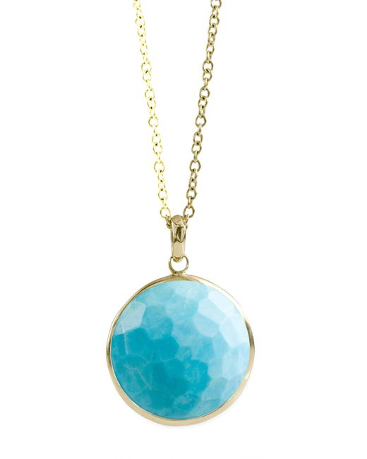 Ippolita | Blue Turquoise Lollipop-pendant Necklace | Lyst