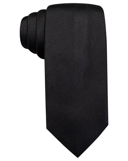 Vince Camuto   Black Isabella Solid Slim Tie for Men   Lyst