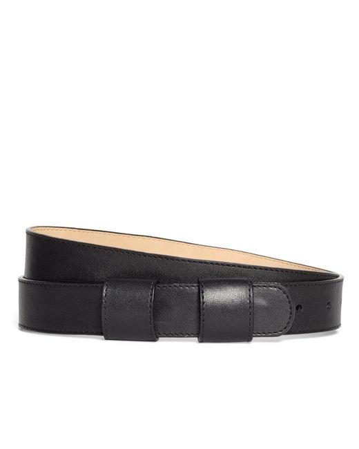 Brooks Brothers   Black Calfskin Belt   Lyst