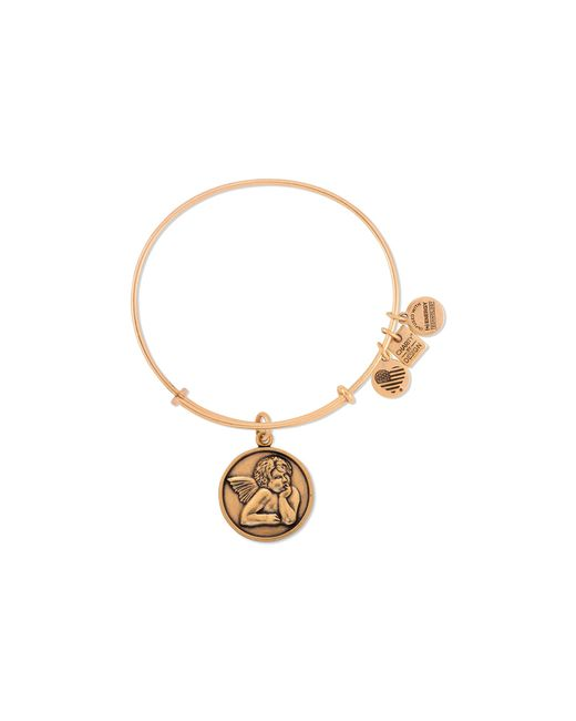 ALEX AND ANI | Metallic Cherub Bangle, Charity By Design Collection | Lyst