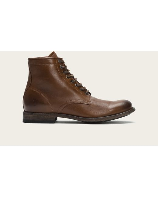 Frye | Brown Tyler Lace Up for Men | Lyst