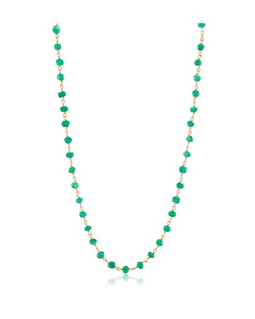 Emily & Ashley | Green Emerald Necklace | Lyst