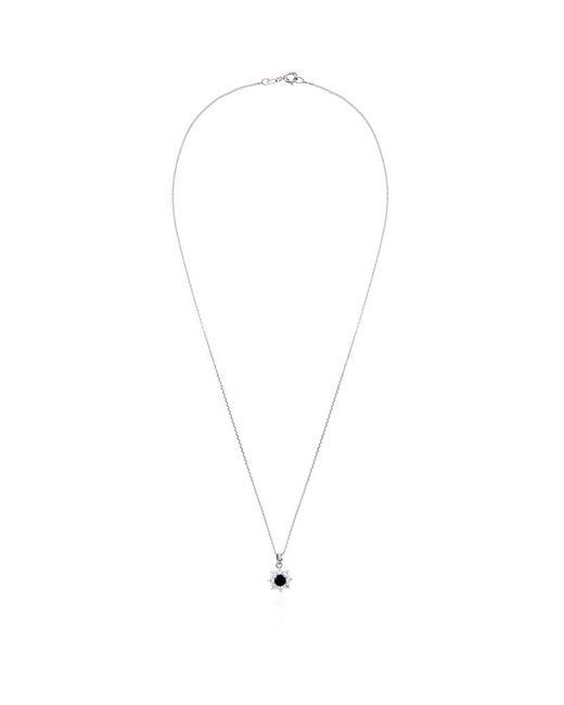 Carat*   Metallic 0.33ct Fancy Round Sapphire Necklace   Lyst