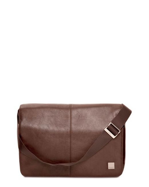 Knomo | Brown 'kinsale' Water Resistant Messenger Bag for Men | Lyst