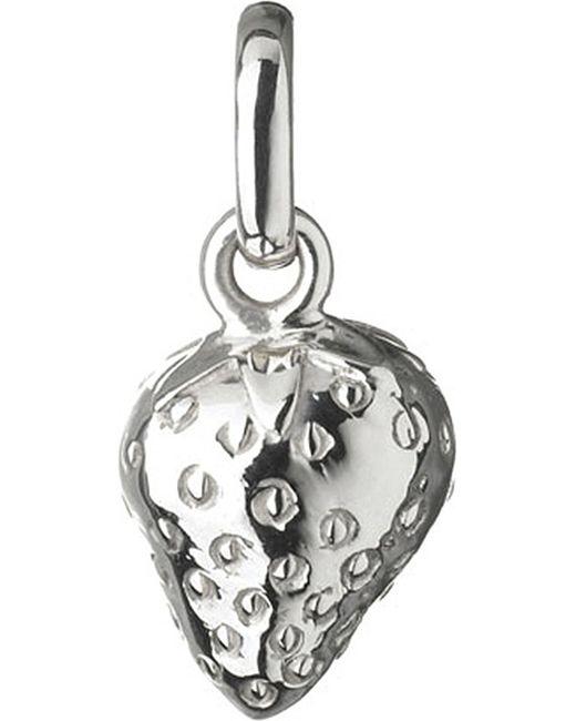Links of London | Metallic Wimbledon Strawberry Sterling Silver Charm | Lyst