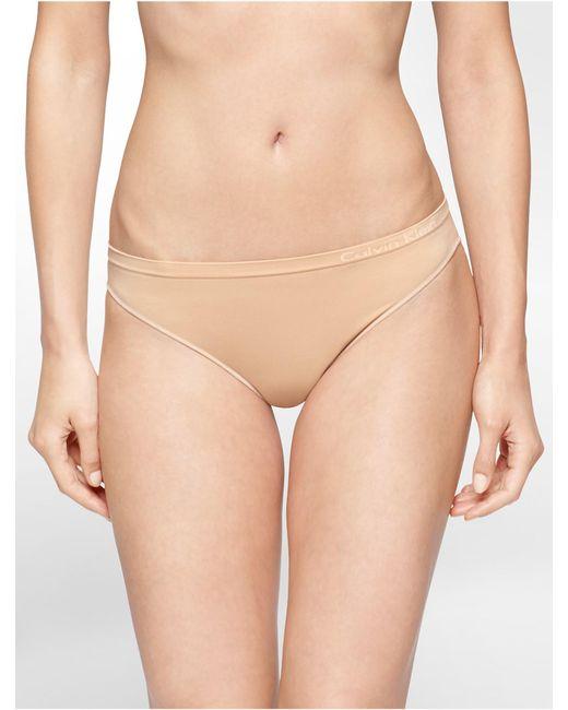 Calvin Klein | Natural Underwear Pure Seamless Bikini | Lyst