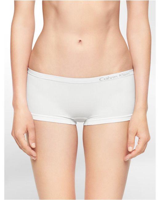 Calvin Klein | White Underwear Pure Seamless Hipster | Lyst