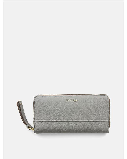 Calvin Klein | Gray Mish4 Wallet | Lyst