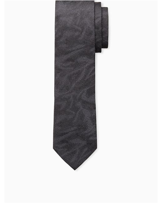 CALVIN KLEIN 205W39NYC - Black Steel Abstract Camo Tie for Men - Lyst
