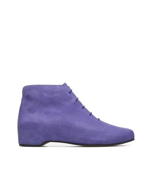 Camper   Purple Ankle Boots Women Serena   Lyst