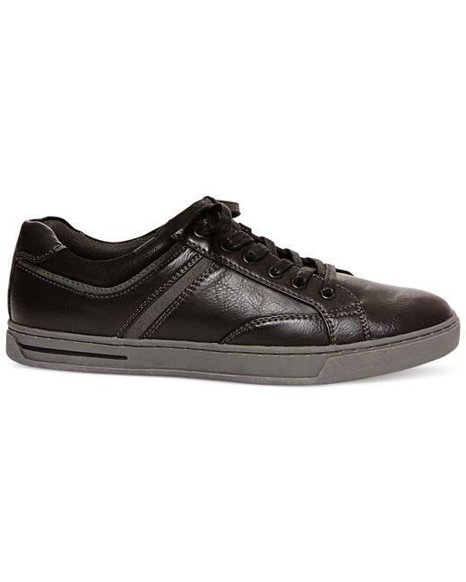 Steve Madden | Black Madden Drill Low-rise Sneakers for Men | Lyst