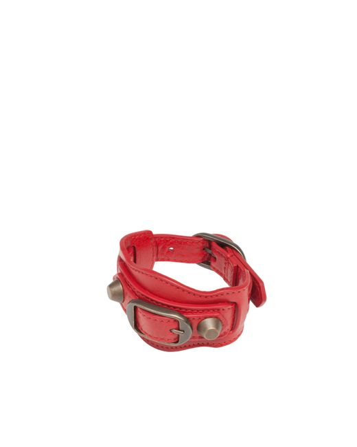 Balenciaga | Red Classic Bracelet | Lyst