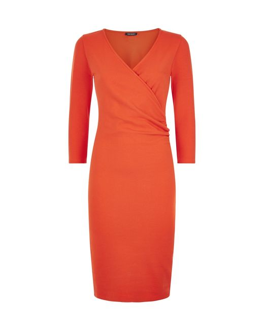 Baukjen | Red Newhall Ponte Dress | Lyst