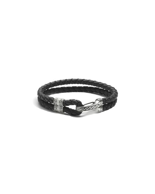 John Hardy | Metallic Men's Sterling Silver Classic Chain Hook Station Bracelet | Lyst