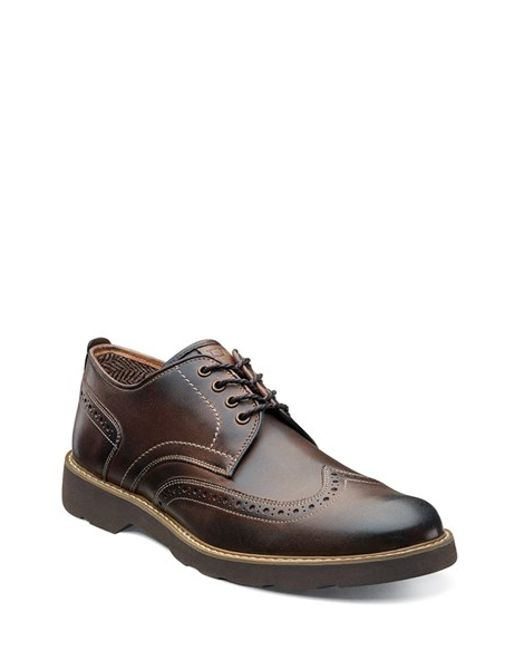 Florsheim | Brown 'casey' Wingtip for Men | Lyst