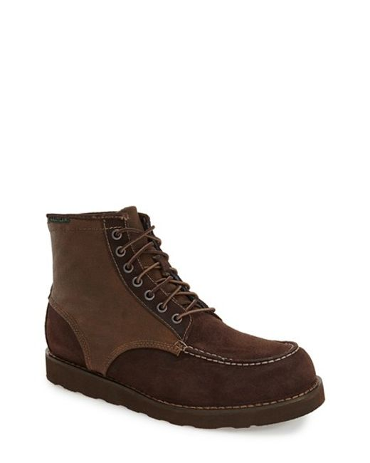 Eastland | Brown 'lumber Up' Moc Toe Boot for Men | Lyst
