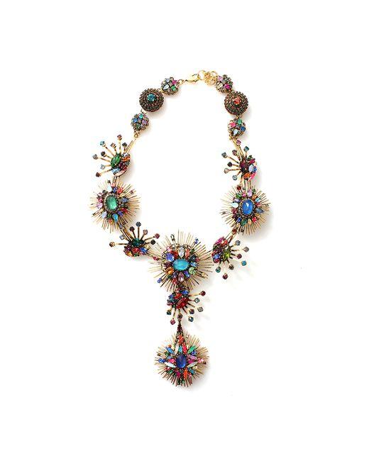 Erickson Beamon | Multicolor 'telepathic' Multi Cut Crystal Firework Necklace | Lyst