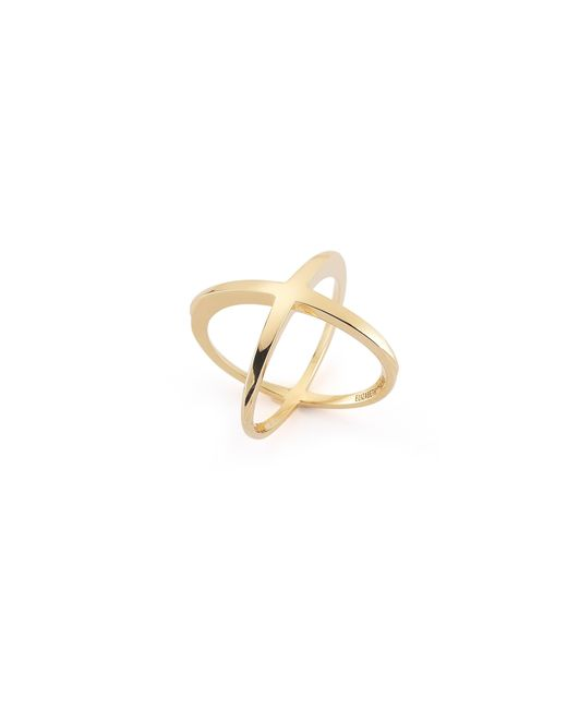Elizabeth and James | Metallic Windrose Ring | Lyst