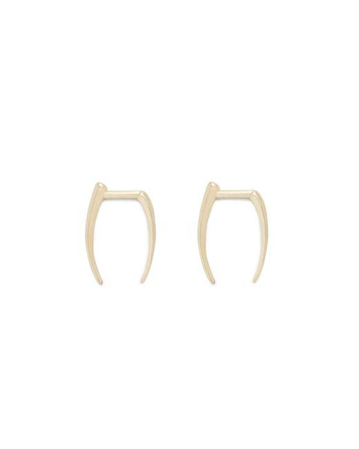 J.Crew | Metallic Gabriella Artigas 14k Gold Infinite Tusk Earrings | Lyst