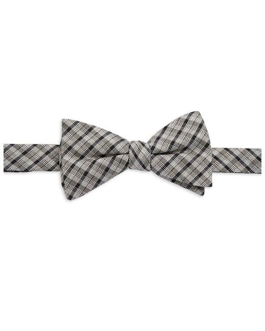 William Rast | Gray Plaid Bow Tie for Men | Lyst