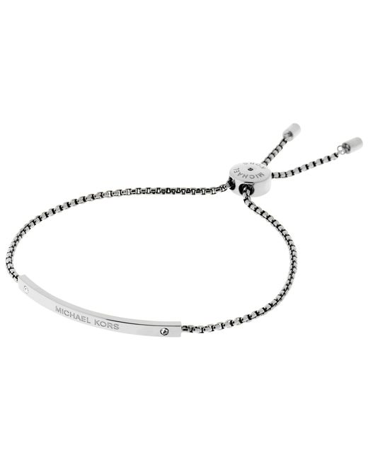 Michael Kors | Metallic Heritage Slider Extender Bracelet | Lyst