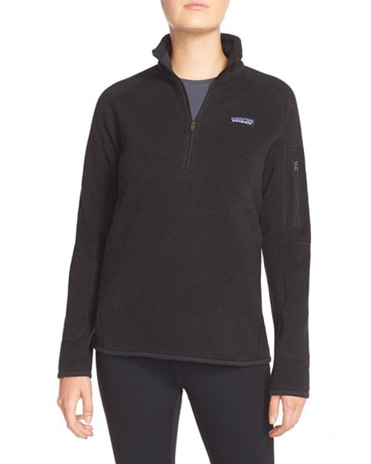 Patagonia | Black 'better Sweater' Zip Pullover | Lyst