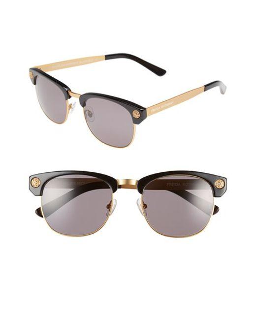 Freida Rothman | Metallic 'charlies' 55mm Retro Sunglasses | Lyst