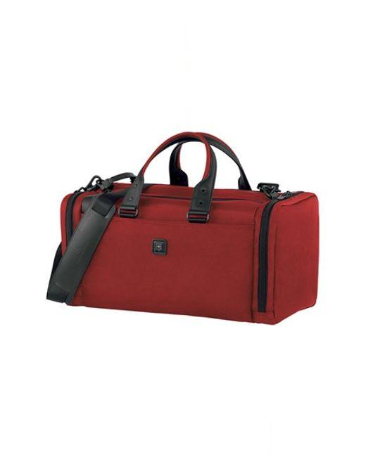 Victorinox | Red Victorinox Swiss Army 'lexicon - Sport Locker' Duffel Bag for Men | Lyst