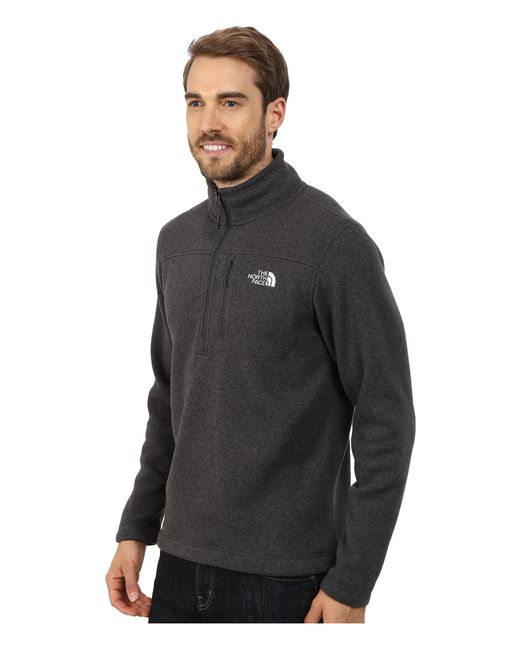 The North Face | Black Gordon Lyons 1/4 Zip Pullover for Men | Lyst