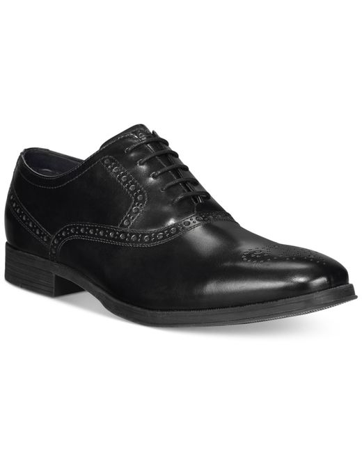 Cole Haan | Black Montgomery Plain-toe Oxfords for Men | Lyst