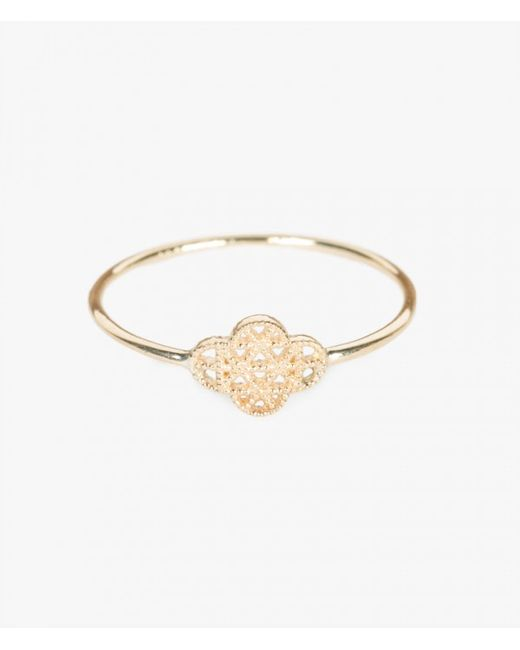 Grace Lee | Yellow Petite Deco Ring Vii | Lyst