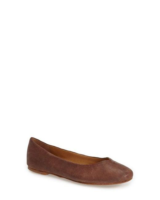 Lucky Brand | Brown 'finorah' Flat (women) | Lyst