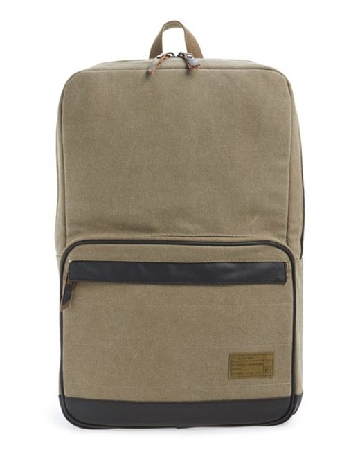 Hex | Brown 'origin' Water Resistant Backpack for Men | Lyst