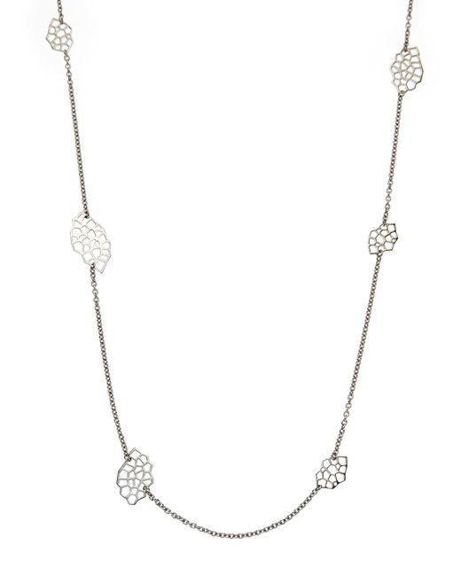 Ron Hami - Metallic Sterling Silver Statement Necklace - Lyst