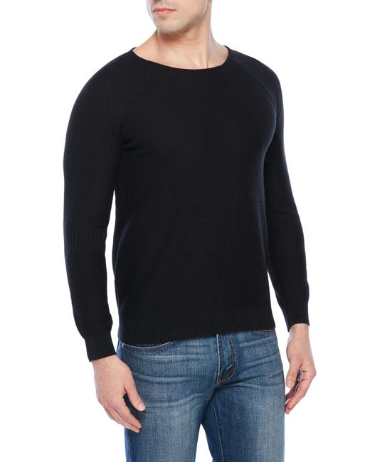 Knitting Journals Sale : Journal fish knit sweater in black for men lyst
