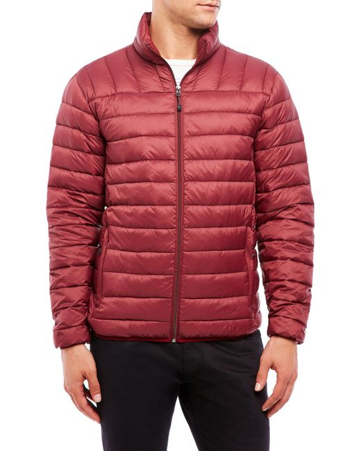 Hawke Amp Co Sport Packable Down Jacket In Red For Men Lyst