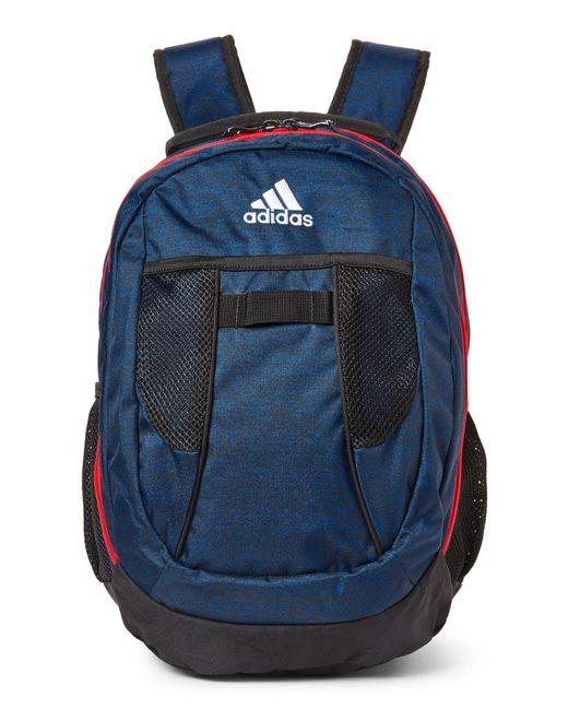 2bb8b032b9 Lyst - adidas Royal Blue   Black Atkins Backpack in Blue for Men