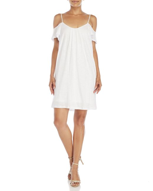Drew | White Madison Off-The-Shoulder Dress | Lyst